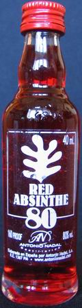 Red absinthe